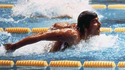 Mark Spitz (1968-1972); swimming; 9 G, 1 S, 1 B
