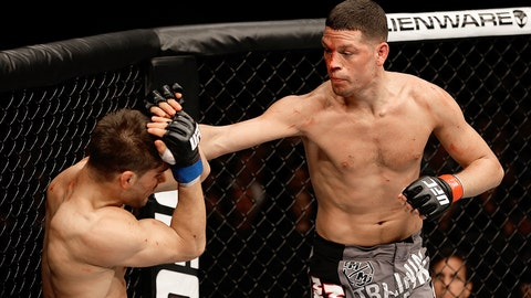 Nate Diaz vs. Josh Thomson