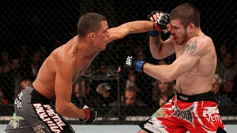 Nate Diaz vs. Jim Miller