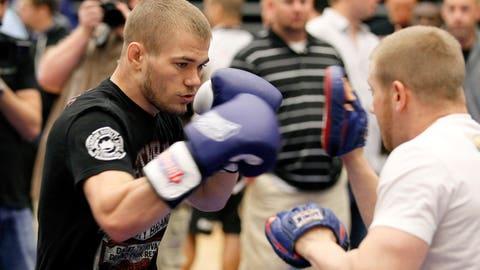 UFC 145 open workout