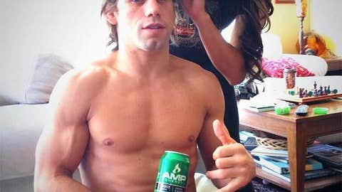 Urijah gets his hair did