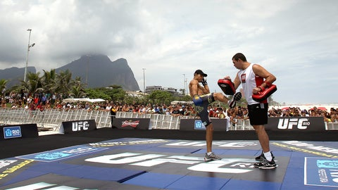UFC Rio open workouts