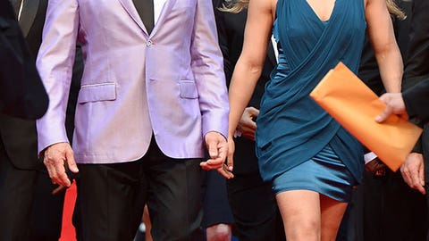 Ronda Rousey and Sylvester Stallone