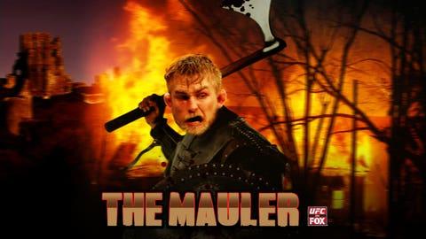 """Alexander """"The Mauler"""" Gustafsson"""