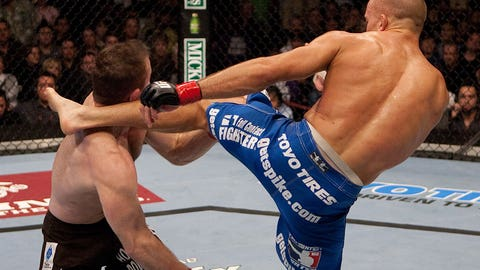 Georges St-Pierre vs. Matt Hughes