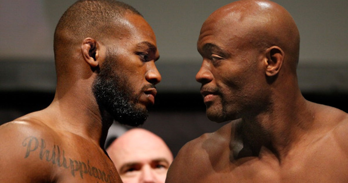 Jon Jones And Anderson Silva Finally Square Off In The