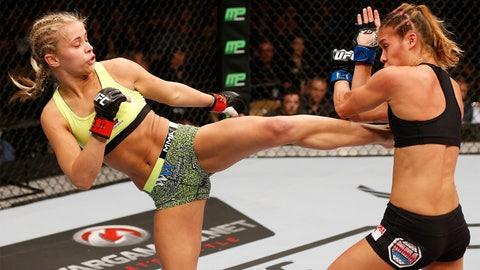 Paige VanZant (UFC rank: 7)
