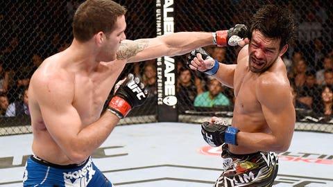 Chris Weidman vs. Lyoto Machida at UFC 175