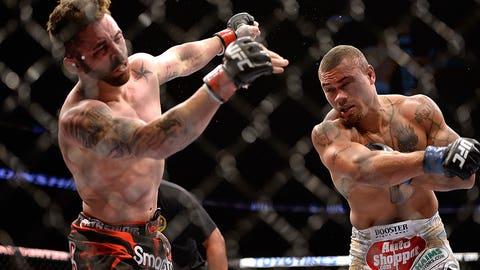 Abel Trujillo vs. Jamie Varner at UFC 169