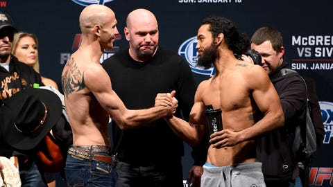 UFC Fight Night: McGregor vs. Siver weigh in