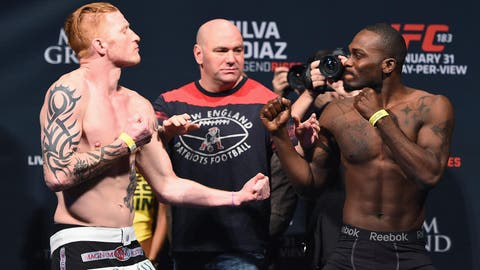 UFC 183 Weigh In