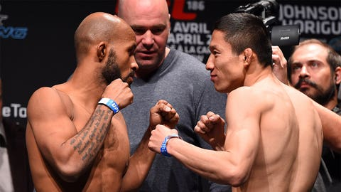 UFC 186: Johnson vs. Horiguchi