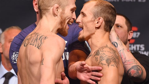 UFC 187 Weigh-In