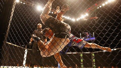 UFC 187: Johnson vs. Cormier action gallery