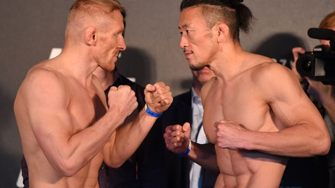 UFC Fight Night: Jedrzejczyk vs. Penne Weigh-in Gallery