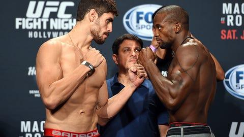 UFC Fight Night: Machida vs. Romero Weigh-in Gallery