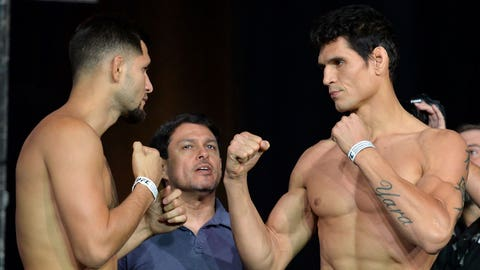 The Ultimate Fighter Finale Weigh-in Gallery