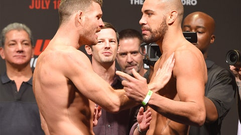 UFC Fight Night: Bisping vs. Leites weigh-in gallery