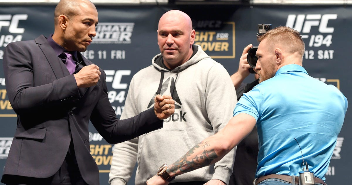 Jose Aldo is done answering questions about Conor McGregor | FOX Sports