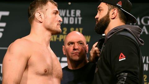 UFC 195 Weigh In