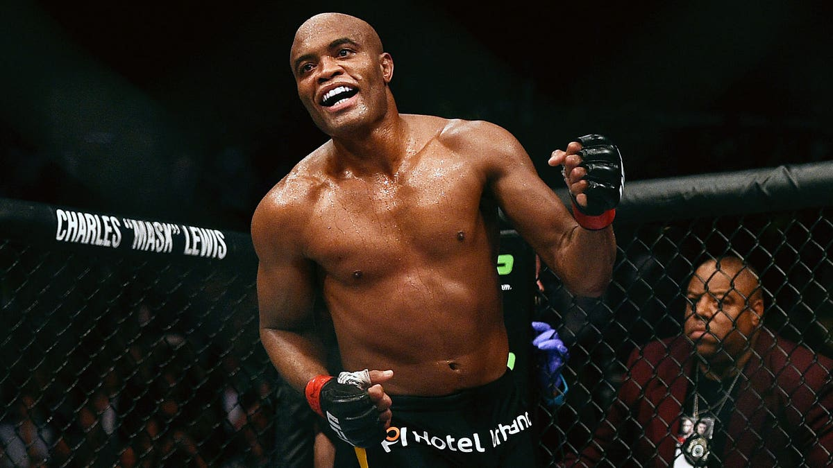 Anderson Silva emotional after hard-fought win over Derek Brunson at UFC 208