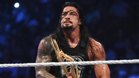 Roman Reigns will win the United States Championship