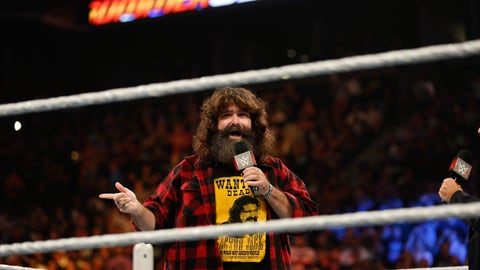 Mick Foley (@RealMickFoley, WWE Hall of Famer, currently the GM of WWE's Monday Night RAW)