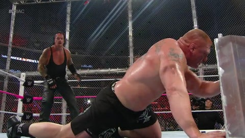 Lesnar vs. The Undertaker, Hell in a Cell 2015