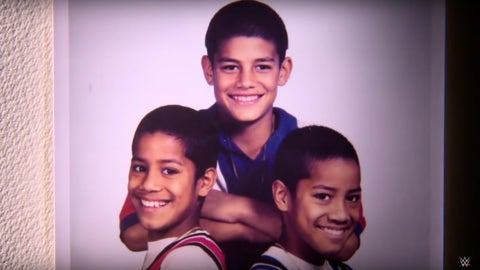 Roman Reigns and The Usos