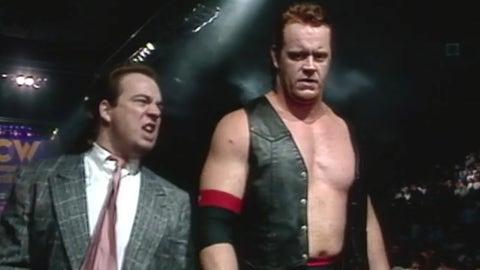 The Undertaker (with Paul Heyman)
