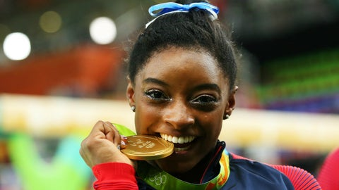 So where does Biles rank?