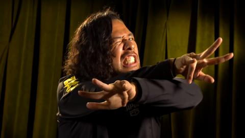 Samoa Joe vs. Shinsuke Nakamura for the NXT Championship
