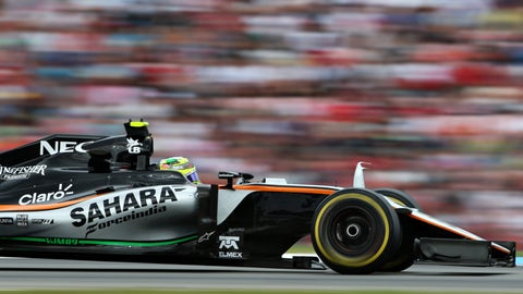 Force India will overtake Williams