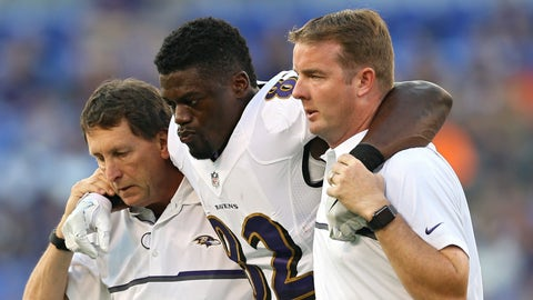 Benjamin Watson, TE, Baltimore Ravens (Achilles')