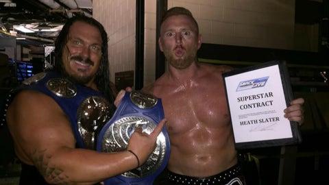 WINNERS: Heath Slater & Rhyno (Raw)