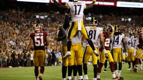 Steelers WR Eli Rogers -- owned in 18.7% of leagues