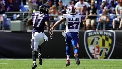 Ravens WR Mike Wallace -- owned in 50.2% of leagues