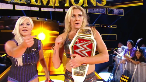 Charlotte pins Bayley to retain the Raw Women's Championship