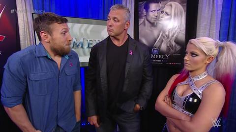 Becky Lynch vs. Alexa Bliss was cancelled