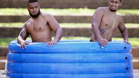 Ice bath buddies