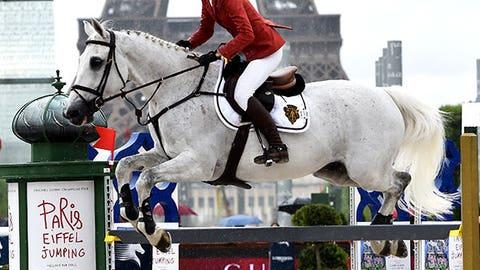 Towering leap