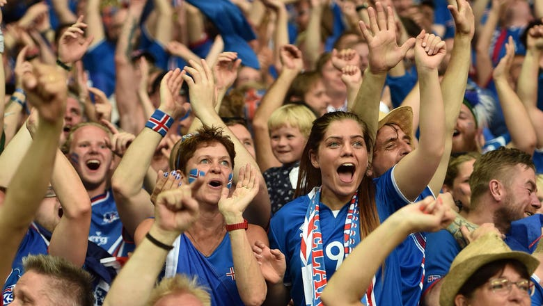 Iceland's jersey maker can't keep up with demand as Scotland fans swoop in