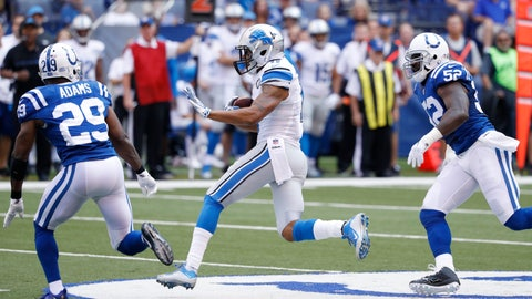 The Colts' depleted secondary gets shredded by the Lions