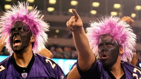 Sunday: Raiders at Ravens