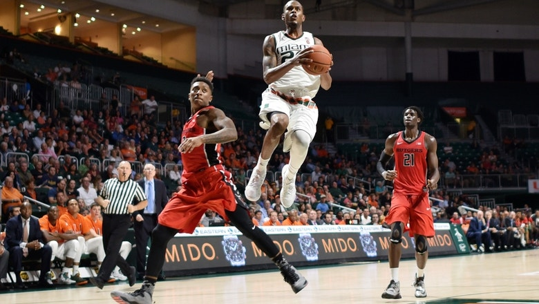 Miami Hurricanes Top Rutgers 73-61 in Big Ten-ACC Challenge