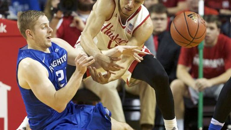 Men's Nebraska Basketball vs. No. 3 Kansas Preview