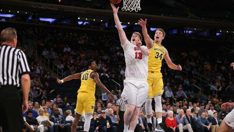 SMU Basketball: Harry Froling set to transfer from Mustangs