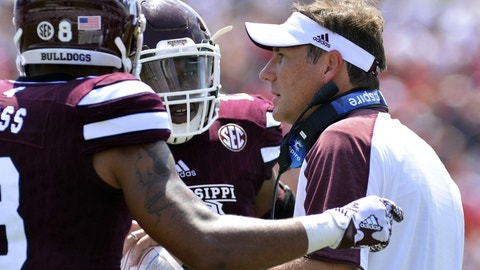 Mississippi State vs. South Carolina (Saturday, 7 p.m. ET)