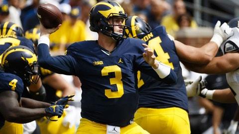 Penn State (+18.5) at Michigan