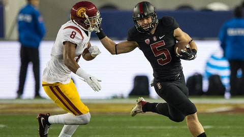 Christian McCaffrey goes bonkers in the Pac-12 title game (2015)